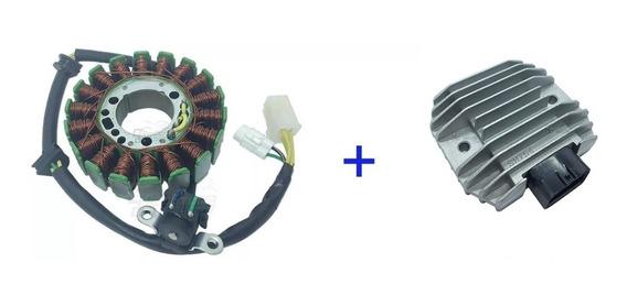 Estator + Regulador Voltagem Fazer / Tenere 250 2011 À 16.
