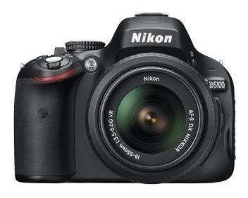 Câmera Nikon D5100 + Lente 18-55mm + Bolsa + Mini Tripé