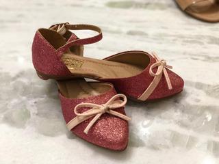 Sapatilha Oxi Pink Coral Rosê Infantil