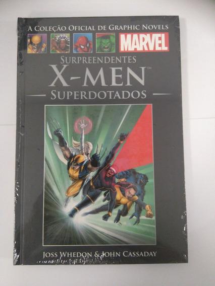 Coleção Marvel - X-men Superdotados - Editora Salvat