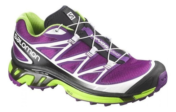 Zapas Salomon Wings Pro Mujer - Trail Running - Salas