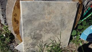 Mesa De Piedra 90x90