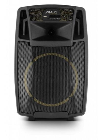 Caixa De Som Frahm Amplificada Multiuso 200w Rms Portátil