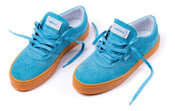 Tênis Hocks Tempus Blue/ Gum Lançamento
