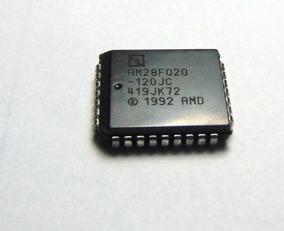 10 Pçs 28f020 Plcc-32 Am28f020-150jc
