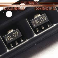 78l09 Smd Ua78 L 09 Sot23 Regulador Tensao Kit Com 5 Peças