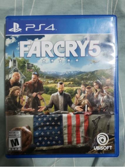 Far Cry 5 Ps4 Mídia Física Seminovo
