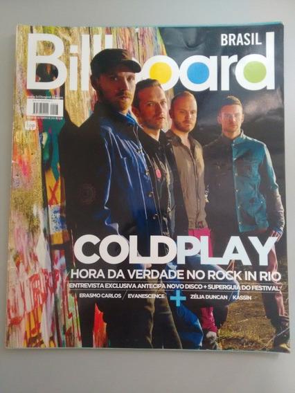 Revista Billboard 23 Coldplay Erasmo Carlos Kassin Y066