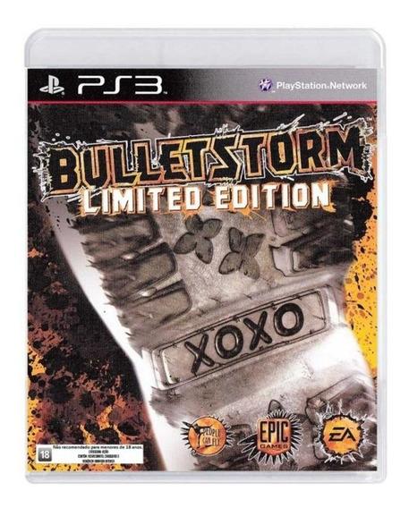 Jogo Ps3 Bulletstorm Limited Edition Usado Mídia Física