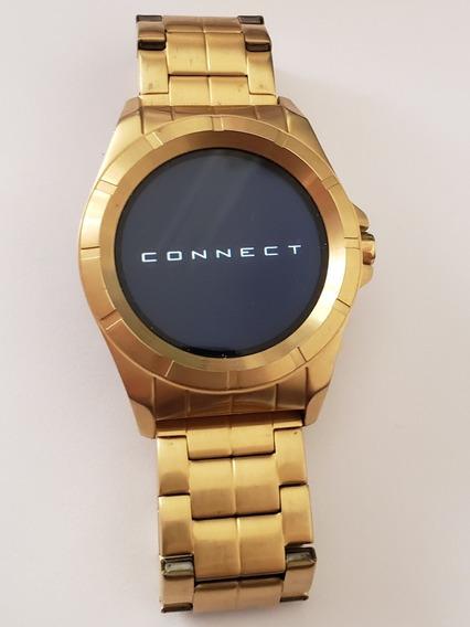 Relógio Technos Masculino Connect Dourado