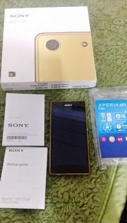 Sony Xperia M5 E5643 Dual Dourado - Defeito Na Placa