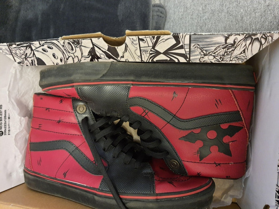 Tênis Vans X Marvel Sk8-hi