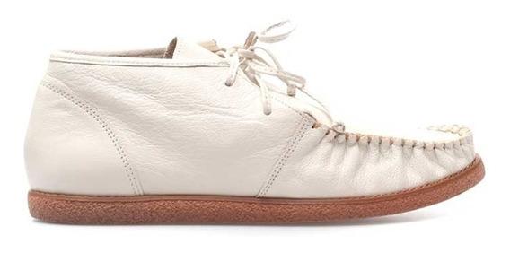 Zapato De Dama De Cuero (mod.19656)