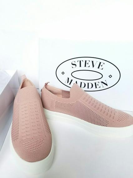 Zapatos Steve Madden Para Mujer Rosa Nuevos Originales 8.5