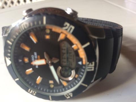 Relógio Casio Amw 710 Super Conservado - Funciona Perfeito