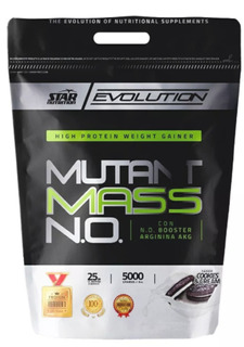 Mutant Mass 5 Kg Star Nutrition Ganador De Peso Óxido Nítrico