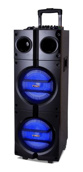 Caixa De Som Trc 1000 Amplificada Com Bluetooth 1000w