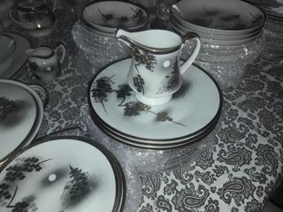 Juego De Vajilla Porcelana Original Kutani China