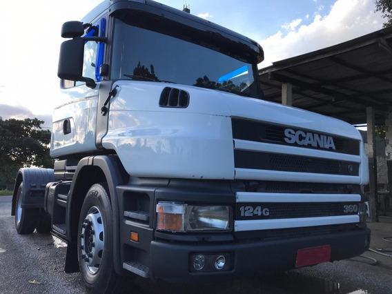 Scania T124 360 - 2001 - 4x2 - Primeiro Caminhão Imperdivel