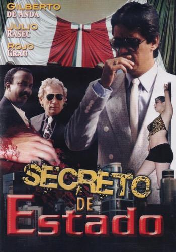 Imagen 1 de 3 de Secreto De Estado Gilberto De Anda Pelicula Dvd