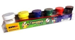 2 - Tempera Gel Printa 6 Colores