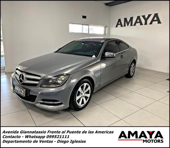 Mercedes Benz Coupe C180 156hp !!impecable Amaya Motors !!