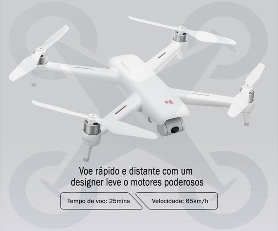 Drone Profissional Xiaomi Fimi A3 1km Fpv 1080p Gps E Gimbal