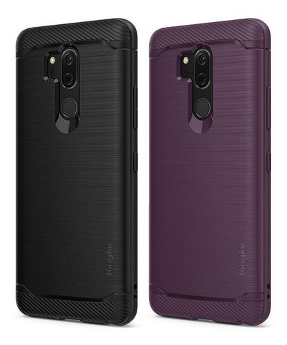 Capa LG G7 Thinq | Ringke Onyx + Película Hprime Curves Pro