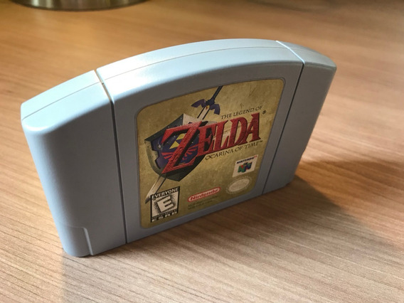 Cartucho / Fita Zelda Ocarina Of Time Nintendo 64 Original