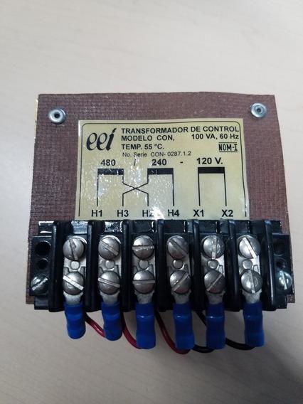 Transformador De Control Modelo Con, 100va, 60hz., Temp. 55°