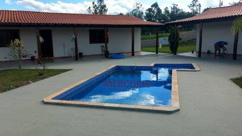 Chácara Com 4 Dormitórios À Venda, 24200 M² Por R$ 650.000,00 - Centro - Piratininga/sp - Ch0141