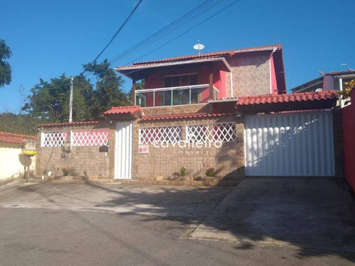 Casa Com 3 Dormitórios À Venda, 180 M² - Flamengo - Maricá/rj - Ca3597