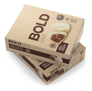 Bold Bar Barra 20g Proteína Barrinha 12 Unidades Bold Snaks