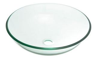 Bacha De Vidrio Transparente Unica De Vidrio Templado Ramos