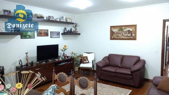Sobrado Com 3 Dormitórios À Venda, 242 M² Por R$ 764.000,00 - Vila Floresta - Santo André/sp - So1783