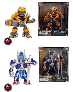 Set De 2 Figuras Metalfigs Transformers M407 M408