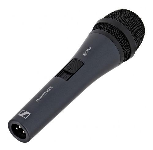 Imagen 1 de 3 de Sennheiser E835-s Micrófono Vocal Cardioide Con Switch On