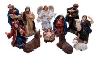 Pesebre 11cm Poliresina 529-31001 Religiozzi (11 Piezas)
