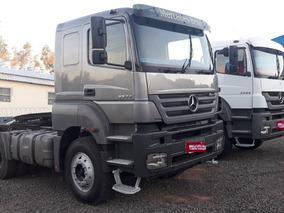 Caminhões Mb Axor 3344 6x4 Traçado,cavalo E Plataforma S/nov