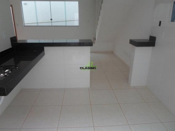 Casa Geminada Com 2 Quartos Para Comprar No Baronesa (são Benedito) Em Santa Luzia/mg - 3361