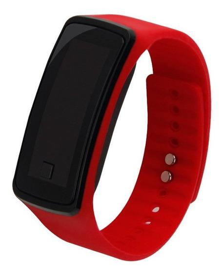 Rojo Ed Reloj Pulsera De Los Niños Simple Deportes Al Aire L