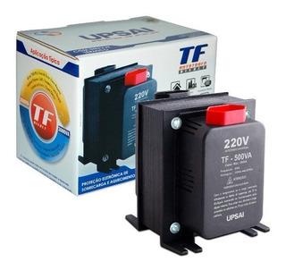 Conversor Energia 500va 110v / 220v Ou 220v / 110v Upsai ( Consulte Aparelho Antes Da Compra 350w Máximo )