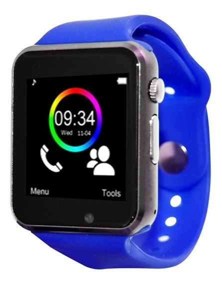 Smart Watch Celular Reloj Touch Bluetooth Necnon C-3t Gr-az