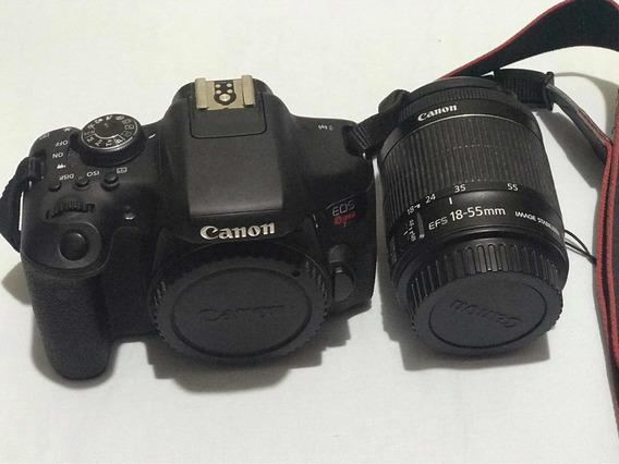 Kit Câmera Dsrl Canon Corpo + Lente 18-55mm