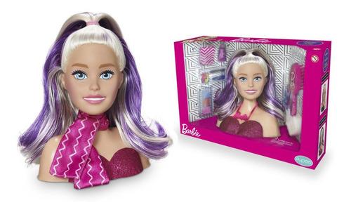 Imagem 1 de 4 de Barbie Busto Styling Head Faces Com Acessórios Original