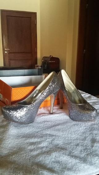 Zapatos De Fiesta Battistella Glitter N°40