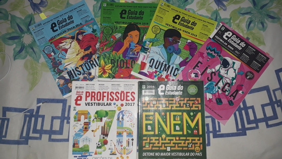 Coleção Revistas Guia Do Estudante Pré Vestibular