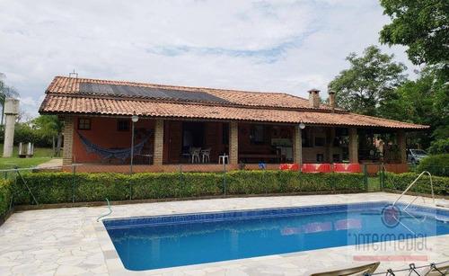 Chácara Com 4 Dormitórios À Venda, 6039 M² Por R$ 550.000 - Cruz Das Almas - Boituva/sp - Ch0576