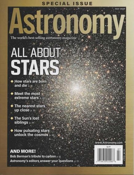 Astronomy Magazine - Assinatura 6 Revistas Avulsas