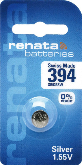 Pilhas Baterias 394, Relógio 1.55v Renata Sr936s Original